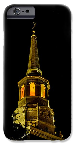 Old Christ Church iPhone Case by Louis Dallara