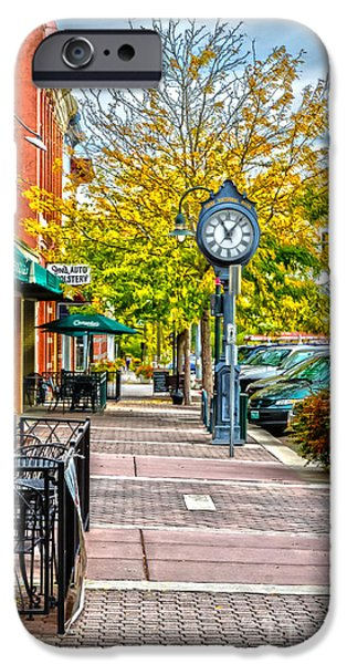 Old Clock iPhone Case by Baywest Imaging