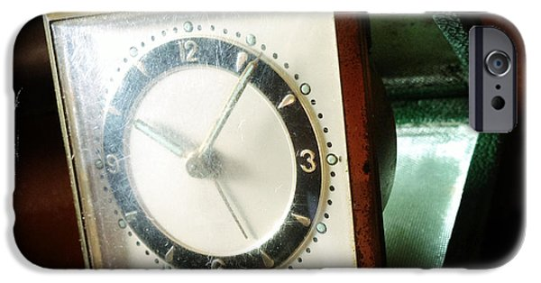 Precise iPhone Cases - Old clock iPhone Case by Les Cunliffe