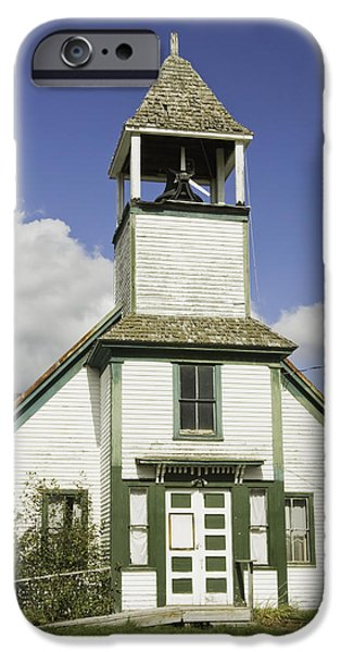 Fall iPhone Cases - Old Country Church iPhone Case by Keith Webber Jr