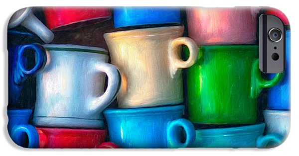 Hattiesburg iPhone Cases - Old Cups for Sale iPhone Case by Brenda Bryant