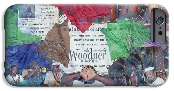 D.c. Mixed Media iPhone Cases - Old D.C. iPhone Case by C  Eugene Faucette
