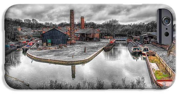 Shed Digital Art iPhone Cases - Old Dock iPhone Case by Adrian Evans