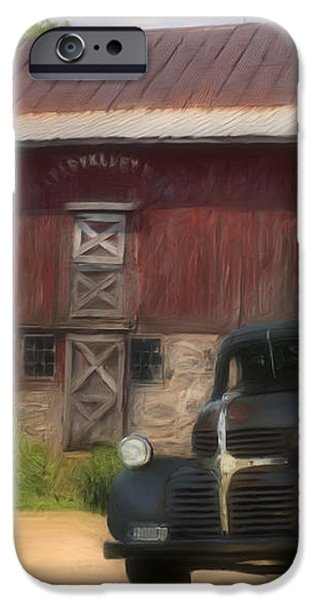 Old Dodge Truck iPhone Case by Jack Zulli