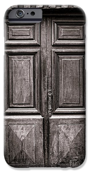 Old Door iPhone Case by Olivier Le Queinec