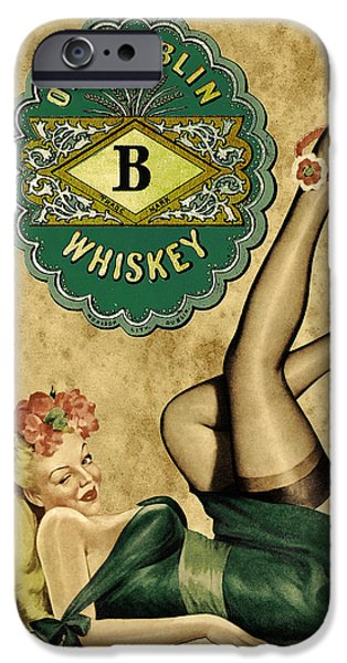 Booze iPhone Cases - Old Dublin Whiskey iPhone Case by Cinema Photography