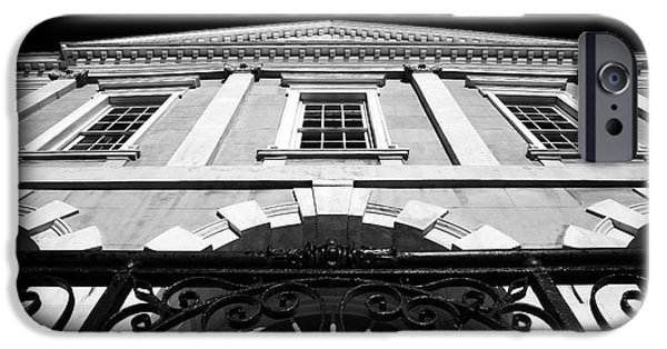 Exchange Place iPhone Cases - Old Exchange Building iPhone Case by John Rizzuto