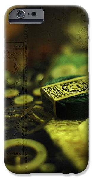 1890Õs iPhone Cases - Old Familiar iPhone Case by Rebecca Sherman