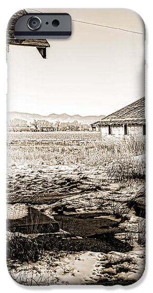 Old Farm iPhone Case by Baywest Imaging