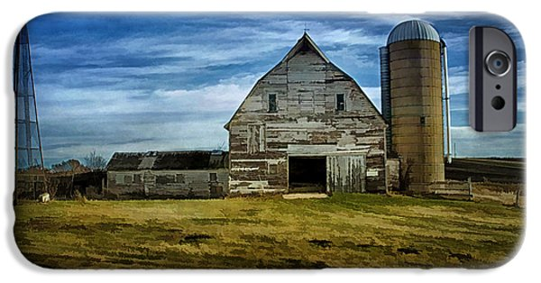 Old Barns iPhone Cases - Old Farm iPhone Case by Todd and candice Dailey