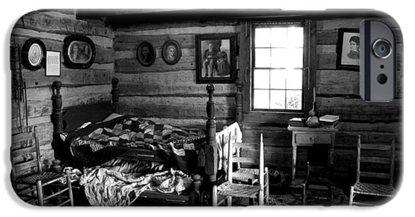 Log Cabin Interiors iPhone Cases - Old Folks at Home iPhone Case by Paul W Faust -  Impressions of Light