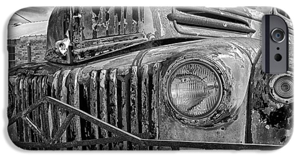 Automotive iPhone Cases - Old Ford iPhone Case by Brian Kerls