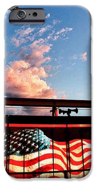 Old Glory iPhone Cases - Old Glory iPhone Case by Bill Kesler