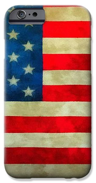 Old Glory iPhone Case by Dan Sproul