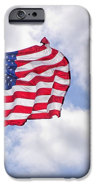 United States iPhone Cases - Old Glory iPhone Case by David and Carol Kelly