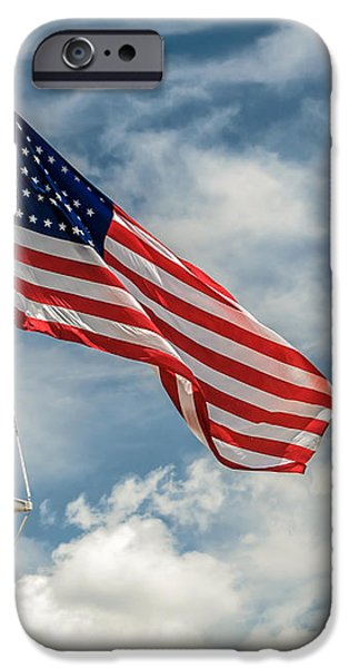 Old Glory iPhone Case by James Barber