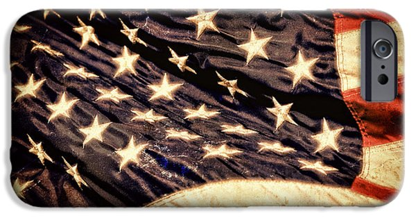 Tea Party iPhone Cases - Old Glory Perseveres iPhone Case by Lincoln Rogers
