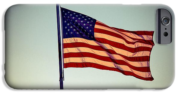 Betsy Ross iPhone Cases - Old Glory iPhone Case by Robert Bales