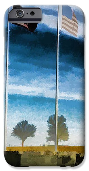 Old Glory-The American Flag iPhone Case by Luther   Fine Art