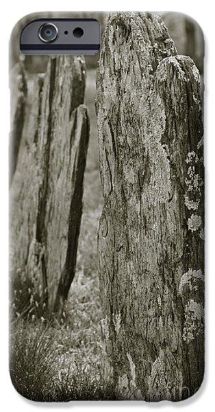 Old Gravestones I iPhone Case by David Gordon