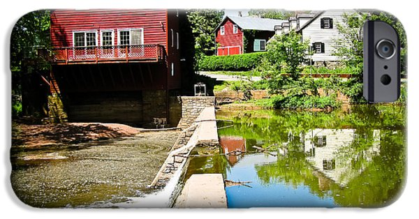Opie iPhone Cases - Old Grist Mill  iPhone Case by Colleen Kammerer