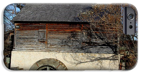 Grist Mill iPhone Cases - Old Grist Mill iPhone Case by Roy Urbach