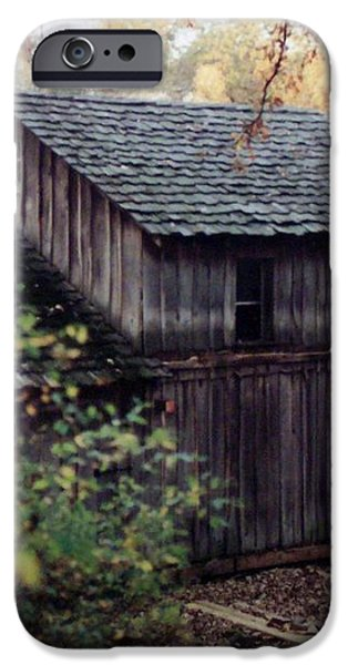 Old Grist Mill iPhone Case by Thomas Woolworth