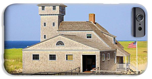 Chatham iPhone Cases - Old Harbor Lifesaving Station--Cape Cod iPhone Case by Stephen Stookey