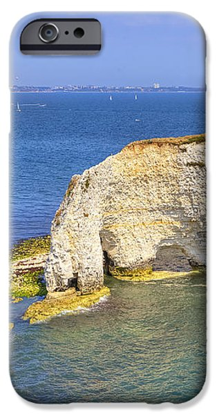 Old Harry Rocks - Purbeck iPhone Case by Joana Kruse