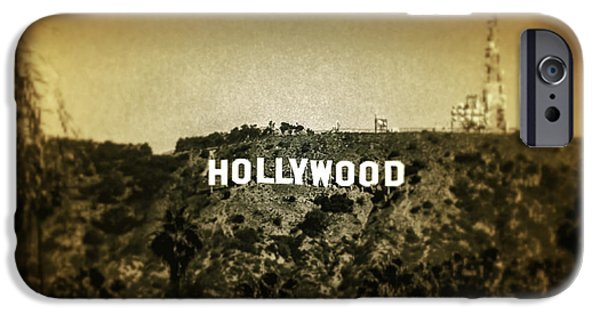 Industry Digital Art iPhone Cases - Old Hollywood iPhone Case by Az Jackson