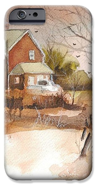 Old Home Place iPhone Case by Robert Yonke