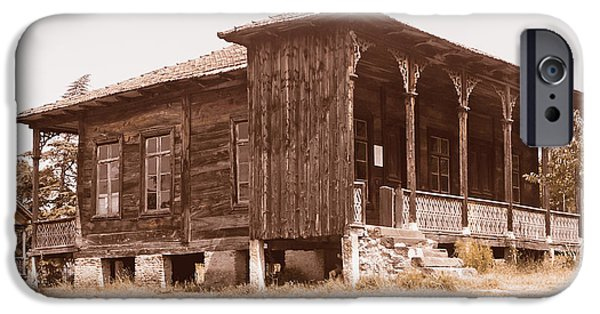 Tbilisi Photographs iPhone Cases - Old house iPhone Case by Lali Kacharava