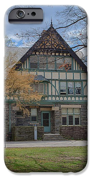Old House on Haverford Campus iPhone Case by Kay Pickens