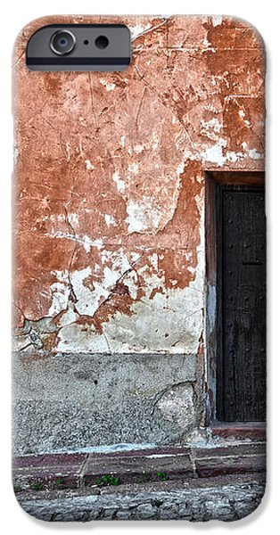 Old house over cobbled ground iPhone Case by RicardMN Photography