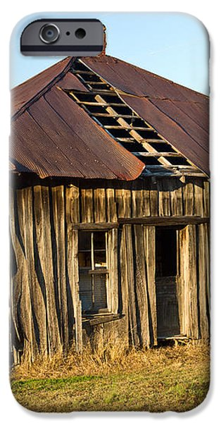 Old House Place Arkansas 2 iPhone Case by Douglas Barnett