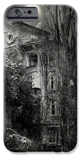Creepy iPhone Cases - Old House iPhone Case by Svetoslav Sokolov
