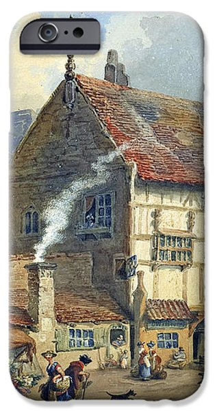 Old Houses and St Olaves Church iPhone Case by George Shepherd