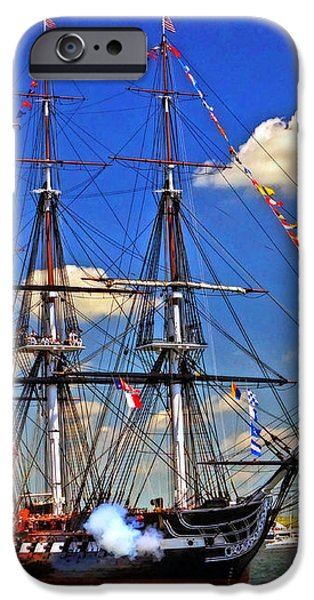 Old Ironsides 1012 iPhone Case by Jeff Stallard