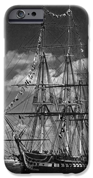 Old Ironsides 1013 iPhone Case by Jeff Stallard