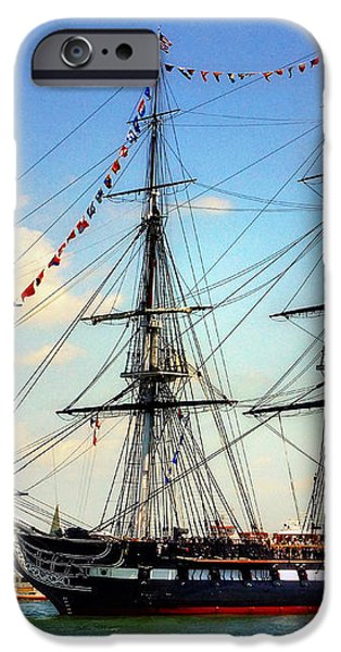 Old Ironsides 1014 iPhone Case by Jeff Stallard