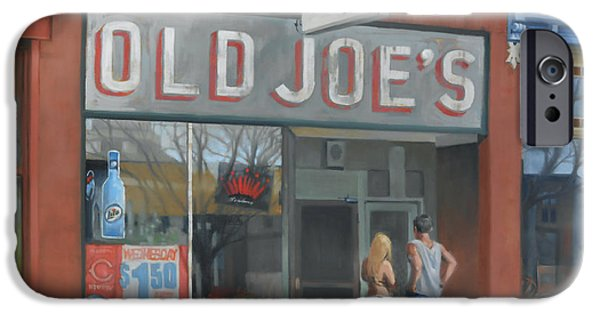 Store Fronts iPhone Cases - Old Joes iPhone Case by Todd Baxter