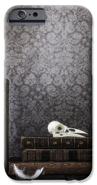 Creepy iPhone Cases - Old Library iPhone Case by Joana Kruse