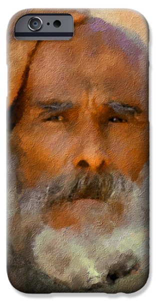 Old Man iPhone Case by Bob Galka