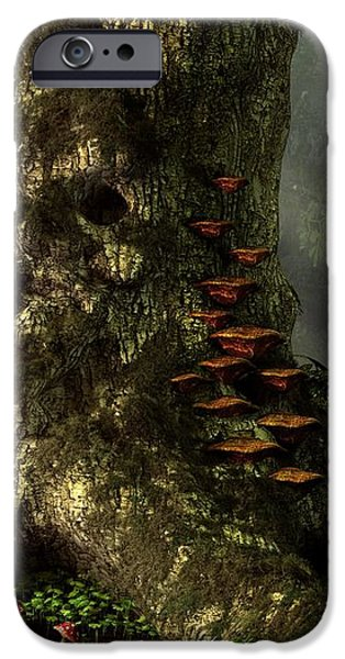 Old Man of the Forest iPhone Case by Daniel Eskridge