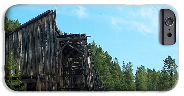 Cabin Window iPhone Cases - Old Mill II iPhone Case by Mark Eisenbeil