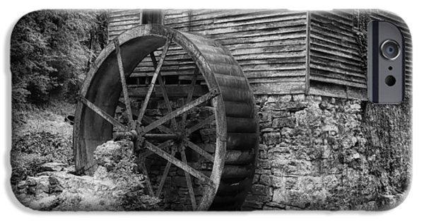 Gatlinburg iPhone Cases - Old Mill in Tennessee iPhone Case by Mountain Dreams
