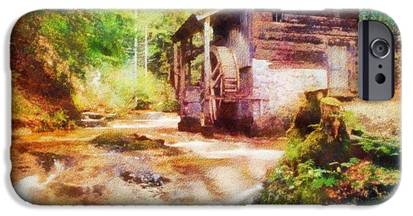 Old Mills iPhone Cases - Old Mill iPhone Case by Jim  Hatch