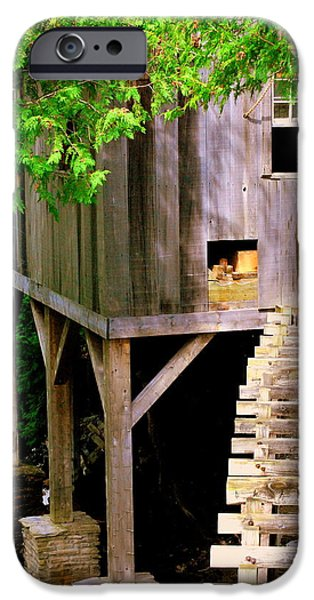 Grist Mill iPhone Cases - Old Mill iPhone Case by Scott Polley