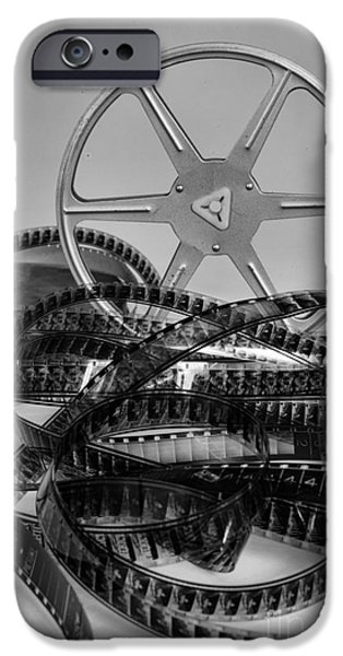 Big Screen iPhone Cases - Old Movies iPhone Case by Paul Ward
