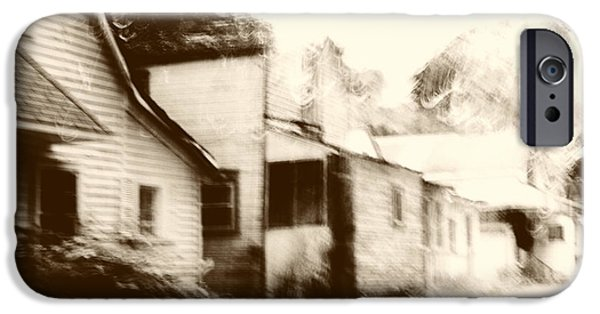 Clapboard House iPhone Cases - Old Neighborhood iPhone Case by Margie Hurwich
